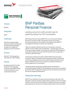 BNP Paribas Personal Finance Success Story